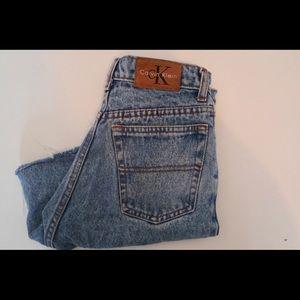 Vintage High rise Calvin Klein shorts